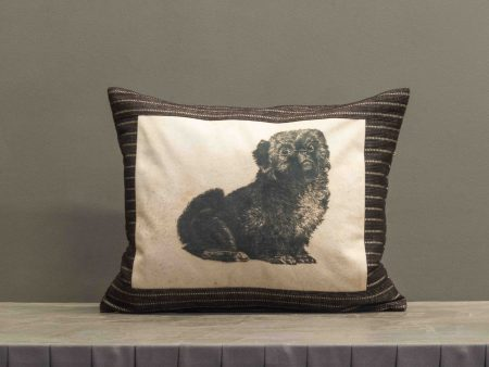 Kissen mit Hundemotivdruck für Hundebesitzer